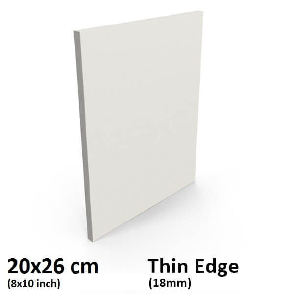 20x26cm8x10 Inch Thin Edge Stretched Canvas